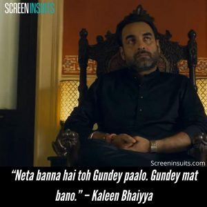 Best Mirzapur dialogues from Kaleen bhaiyya